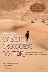 Capa do livro Existem Crocodilos no Mar, que conta a história de Enaiat. Crédito: Divulgação
