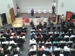 Abertura da 1ª Conferência Municipal de Políticas para Imigrantes, em São Paulo Crédito: Rodrigo Borges Delfim, 29/11/13