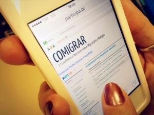 Conferências virtuais também vão elaborar propostas para a etapa nacional. Crédito: Reprodução/COMIGRAR