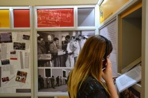 Com a chegada ao metrô,  a exposição quer ampliar ampliar o debate sobre ser imigrante e aproximá-lo da sociedade. Crédito: Museu da Imigração