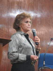 A procuradora Nilce Rodrigues, durante evento na PRR-3 Crédito: Rodrigo Borges Delfim