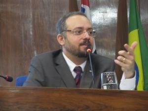 O procurador Daniel Salgado, também presente no debate da RRF Crédito: Rodrigo Borges Delgfim