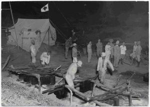 Uma das imagens que serão expostas na Mostra, da atuação do CICV durante a Guerra do Chaco. Crédito: CICV