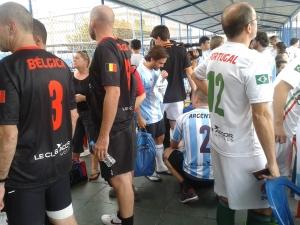 No mesmo espaço, as seleções da Argentina, Bélgica e Portugal. Crédito: Rodrigo Borges Delfim