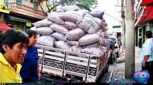 Donativos arrecadados no Brasil chegam à Bolívia. Crédito: Bolívia Cultural
