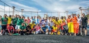 Copa Gringos terá 24 seleções, divididas em seis grupos. Crédito: Divulgação