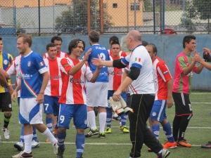 Seleção do Paraguai em vitória sobre a Itália na Copa Gringos. Crédito: Rodrigo Borges Delfim