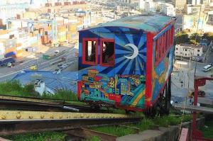 Vista da cidade chilena de Valparaíso. Crédito: Reprodução