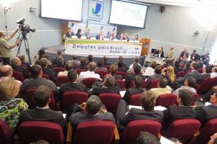 Auditório do Interlegis, em Brasília, que receberá seminário sobre migrações. Crédito: Agência Senado