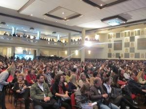 Cerca de 800 pessoas devem acompanhar os três dias do evento. Crédito: Rodrigo Borges Delfim