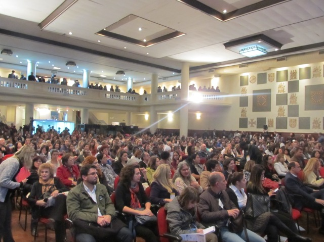 Cerca de 800 pessoas acompanharam os três dias do evento. Crédito: Rodrigo Borges Delfim