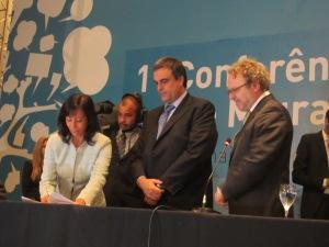 União, governo de SP e Prefeitura assinam o Termo de Cooperação. Crédito: Rodrigo Borges Delfim