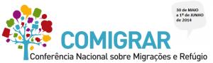 Logo oficial da Conferência Nacional de Migrações e Refúgio (Comigrar). Crédito: Comigrar