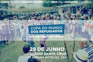 Depois da Copa Gringos, agora é a vez da Copa do Mundo dos Refugiados em São Paulo. Crédito: Divulgação