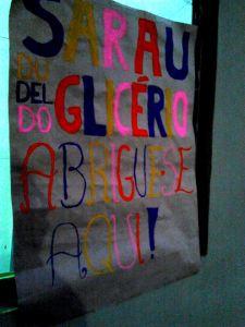 Cartaz convidava os imigrantes a tomarem parte no Sarau. Crédito: EpM