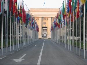 Representação das Nações Unidas em Genebra, Suíça. Crédito: Wikimedia Commons