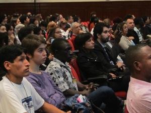 Comigrar reuniu migrantes, estudiosos, militantes e agentes públicos de todo o país que lidam com migrações. Crédito: Rodrigo Borges Delfim