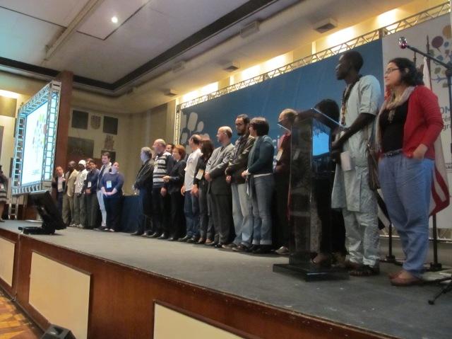 CASC ganhou novos membros após a Comigrar. No entanto, não voltou a se reunir desde o evento. Crédito: Rodrigo Borges Delfim