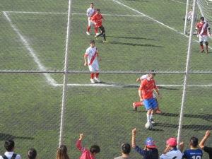 Peru e Chile decidiram o terceiro lugar do torneio. Os peruanos levaram a melhor. Crédito: Rodrigo Borges Delfim