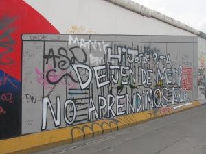 O mundo mostra que ainda não aprendeu com as lições deixadas por eventos como o Muro de Berlim. Crédito: Rodrigo Borges Delfim