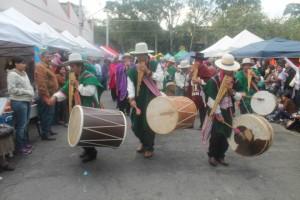 Jacha Sikuris de Italaqui, dança da Bolívia e uma das atrações previstas para a Inti Raymi de SP. Crédito: Divulgação