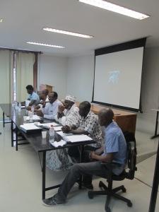 Diretoria da UMSPB presidiu a Conferência dos malineses em São Paulo, que reuniu também imigrantes de outras nacionalidades. Crédito: Rodrigo Borges Delfim