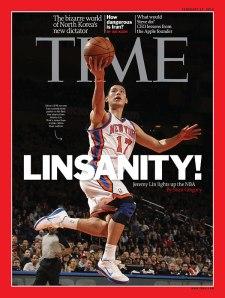 Edição da revista Time que teve Lin nacapa. Crédito: Reprodução