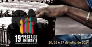Festa do Imigrante acontece nos dias 20, 26 e 27 de julho, em São Paulo. Crédito: Divulgação
