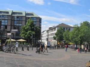 Região central de Bonn, Alemanha. Crédito: Rodrigo Borges Delfim