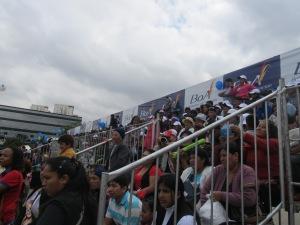 Bolivianos e descendentes lotaram as instalações para acompanhar o evento, no Memorial da América Latina