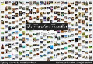 A ideia é contar com 1.000 fotos no catálogo online do TFT. O projeto já tem contribuições de 60 países. Crédito: The Freedom Traveler
