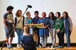 Campanha #IamFree é abraçada tanto pelas mulheres como por homens que despertaram para o direito da mulher à liberdade de movimento. Crédito: The Freedom Traveler