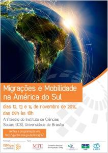 Seminário Internacional Migração e Mobilidades na América do Sul