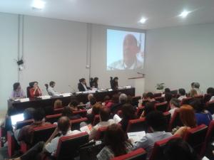 Seminário promovido pela OBMigra apresentou dados inéditos sobre imigrantes no mercado de trabalho brasileiro. Crédito: Rodrigo Borges Delfim