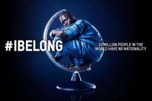 """Uma das imagens da da campanha """"I Belong"""", lançada pela ACNUR. Crédito: Divulgação"""