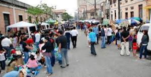 Imagem da rua Coimbra, um dos pontos de referência da comunidade boliviana em São Paulo. Crédito: Bolívia Cultural