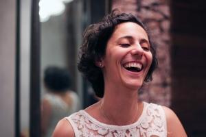 A brasileira Carolina Van Moorsel, imigrante que trabalha em prol de outros imigrantes. Crédito: Arquivo pessoal