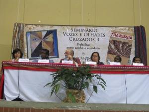 Imigrantes partilharam as próprias histórias durante o seminário. Crédito: Rodrigo Borges Delfim