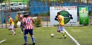 Peru lidera a Liga Gringos após vitória sobre o Paraguai. Crédito: Divulgação