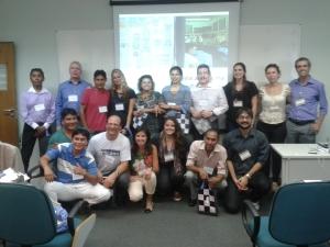 Aliança Empreendedora, Alinha e parceiros durante evento em SP. Crédito: Rodrigo Borges Delfim