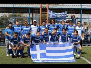 Gregos vão disputar a elite da Liga Gringos em 2015. Crédito: Lucas Campos