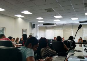 Sala na Câmara ficou lotada para o seminário. Crédito: Lya Maeda