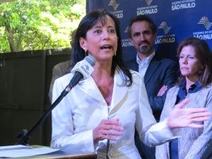 A secretária de Justiça de SP, Eloisa Arruda. Crédito: Rodrigo Borges Delfim