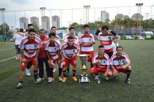 Japão é o campeão da Segundona da Liga Gringos. Crédito: Liga Gringos