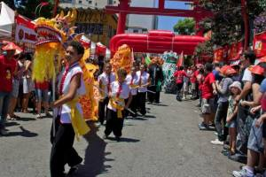 Cerca de 160 mil pessoas são esperadas para o Ano Novo Chinês em São Paulo. Crédito: Divulgação