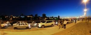 Avenida Costanera, construída recentemente em Assunção. Crédito: Zenoura/Prefeitura de Assunção