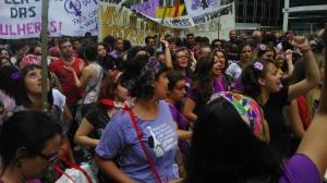 Marcha percorreu diversas ruas da região central de São Paulo. Crédito: Géssica Brandino