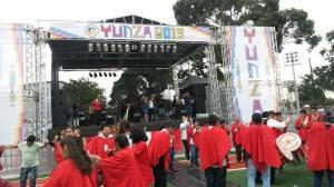 Yunza já se firma como uma grades festas dos migrantes em SP. Crédito: Paulo Illes