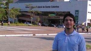 """O jornalista Derlis Cristaldo, autor de """"Além da Fronteira"""". Crédito: Arquivo pessoal"""