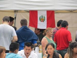 Culinária peruana era uma das atrações da Yunza. Crédito: Rodrigo Borges Delfim